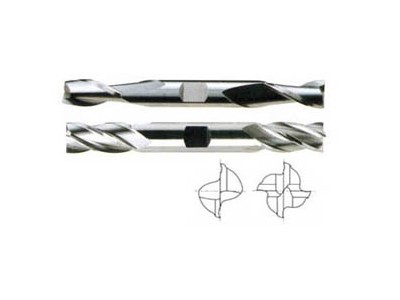 2&4 Flute Regular Length Double End Mills-1