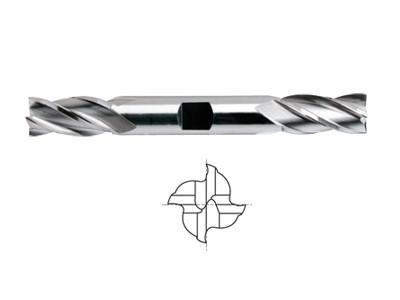 ASP30, 30 Degree Helix 4 FL. Regular Length Double End Mills-1