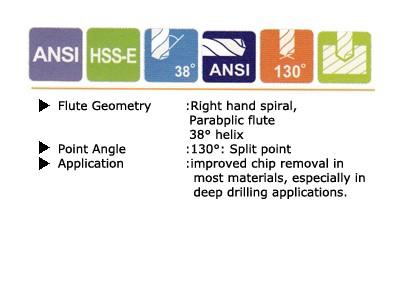 Straight Shank Parabolic Flute - Taper Length_1