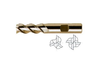 ASP, 45 Degree Helix 3&4 FL. Regular Length End Mills-1