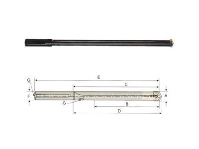 Flute Spade Drill Holder