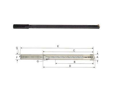 Straight Flute Drill holder