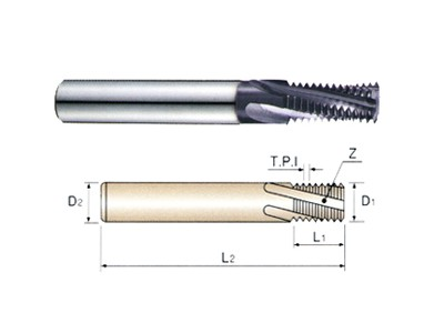 60 Degree Tialn Coated Taper pipe Thread_1