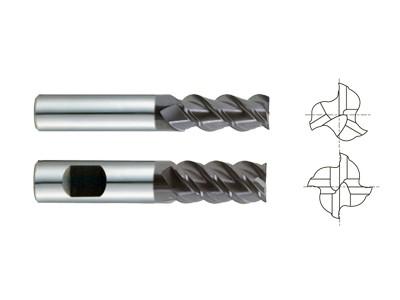 Carbide 3 & 4 Flute 50 Degree Helix Regular Length-1