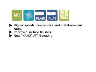 4 Flute V7 Inox Extended Length Carbide End Mill-2