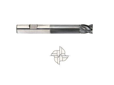 4 Flute V7 Inox Extended Length Carbide End Mill-1
