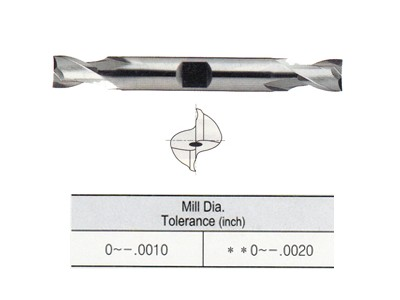 Tank Power, Asp60 2 Flute Double End Mills-1