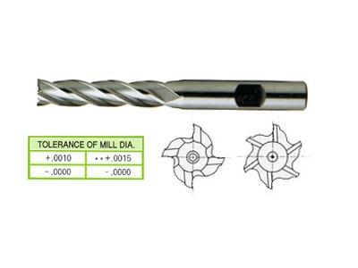 Cobalt 8%, 4&6 Flute End Mills-Long Length-1